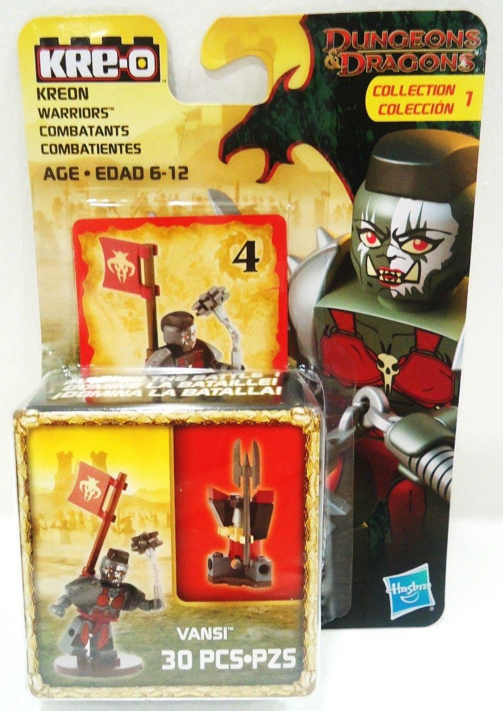 KRE-O - DUNGEONS & DRAGONS - WARRIOR - VANSI - 30 PCS, - COLLECTION - LEGO - NEW