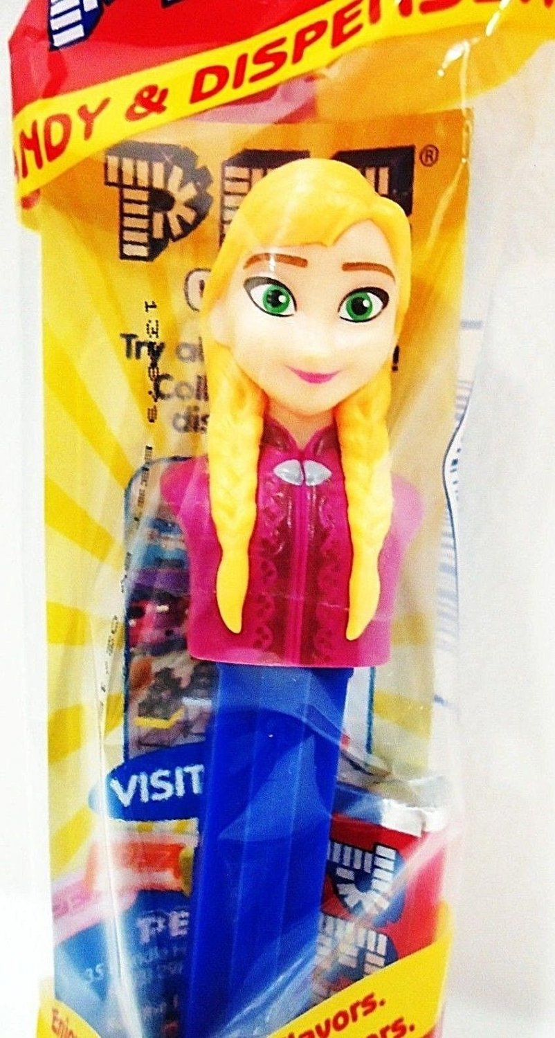 PEZ - FROZEN - COLLECTIBLE - MOVIE - ANNA - CANDY - DISPENSER - NEW - SEALED