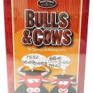 FRONT PORCH CLASSICS - BULLS & COWS - CODE - BREAKING - GAME - NEW - BOARD GAMES