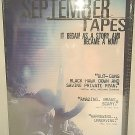 SEPTEMBER TAPES - DVD - BRAND NEW - SEALED - BOUNTY HUNTERS - WAR - 9/11 - MOVIE