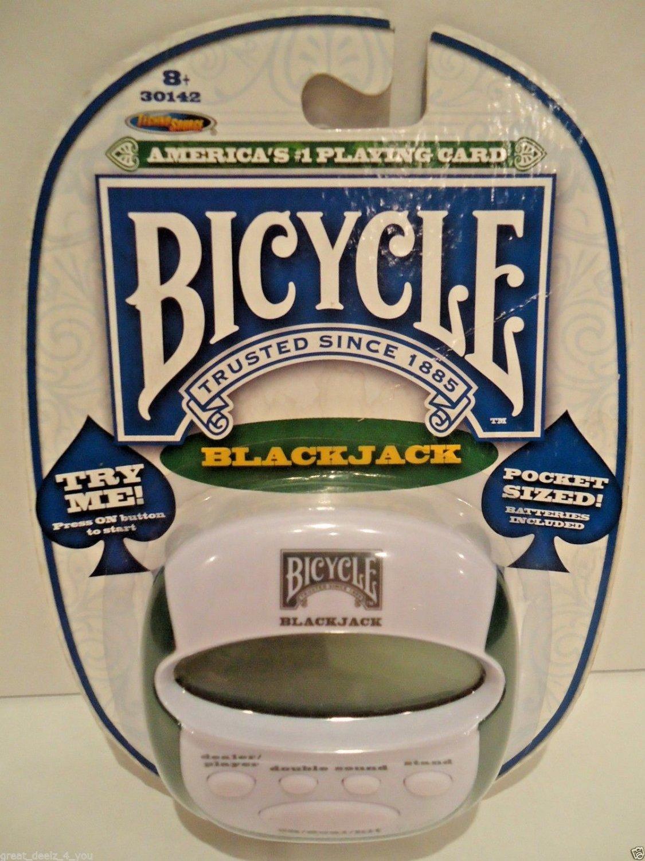 BICYCLE - POCKET SIZED - BLACK JACK - ELECTRONIC - CARD - GAME - VEGAS - POKER