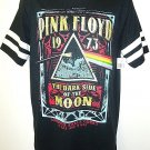 PINK FLOYD - DARK SIDE OF THE MOON - RETRO - BLACK - TEE - MEDIUM - NEW - MUSIC