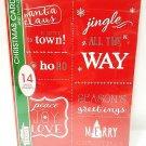 HOME ELEMENTS - 14 PCS. - CHRISTMAS - CARDS - ENVELOPES - BOXED - SET - NEW