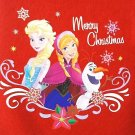 "DISNEY - FROZEN - 18"" - CHRISTMAS - HOLIDAY - RED - WHITE - STOCKING - BRAND NEW"