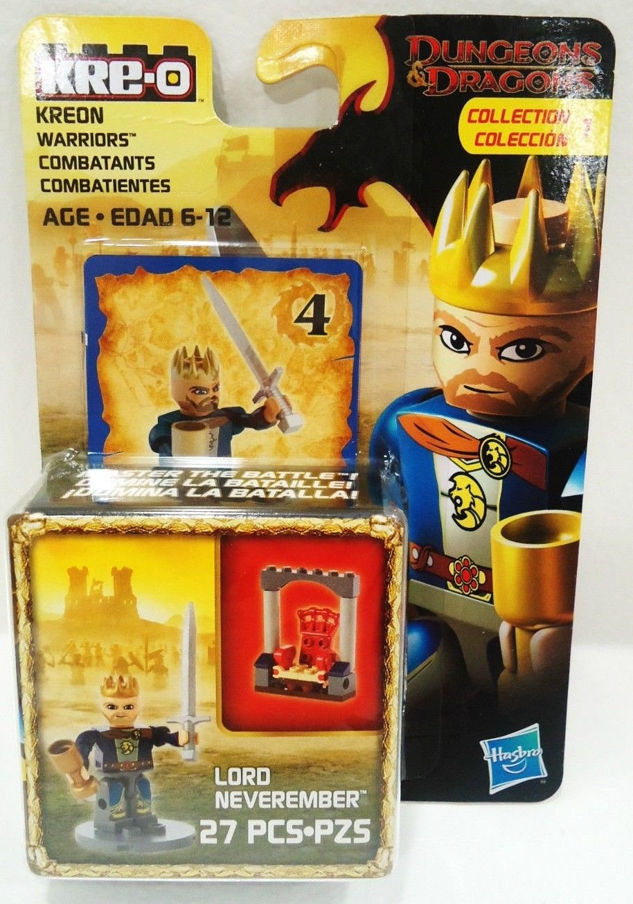 KRE-O - DUNGEONS & DRAGONS - WARRIOR - LORD - 27 PCS, - COLLECTION - LEGO - NEW