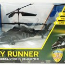 US ARMY - SKY RUNNER - 3.5 CHANNEL - GYRO - RC - HELICOPTER - LED - NEW - SEALED
