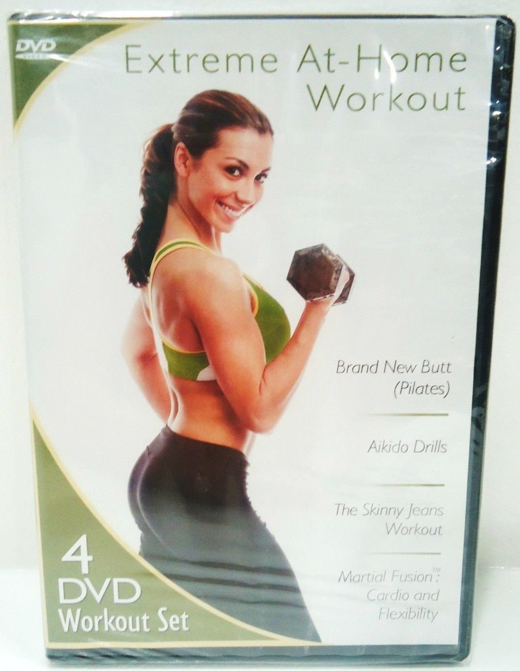 EXTREME AT HOME WORKOUT - DVD - 4 DISC SET - JANIS SAFFELL - PILATES - AIKIDO