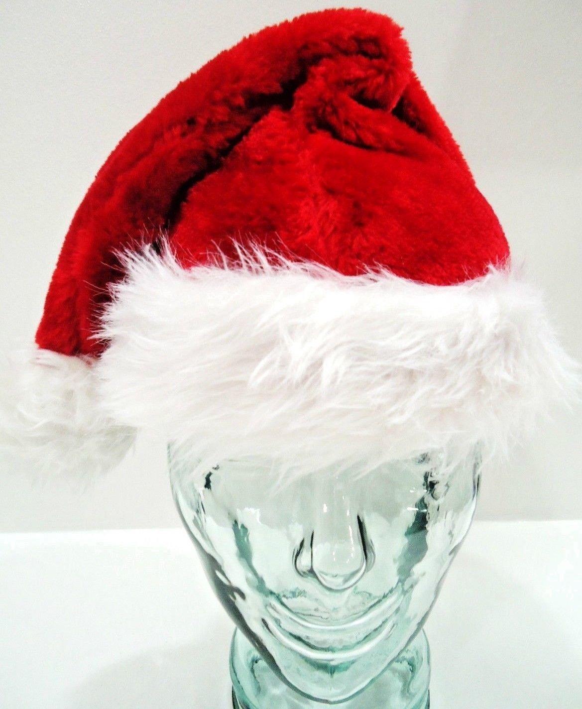 HOME ELEMENTS - UNISEX - CHRISTMAS - SANTA - ELF - RED - WHITE - HAT - CAP - NEW