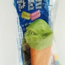 STAR WARS - COLLECTIBLE - YODA - JEDI - PEZ - CANDY - DISPENSER - NEW - SEALED