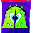 JUSTICE - GIRLS - LITTLE MONSTERS - PURPLE - SOCKS - NEW - MONSTERS INC - ALIENS