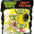 GROSSER THAN GROSS - PARTY FAVORS - FAKE - POOP - ROACH - FINGER - GAG - NEW