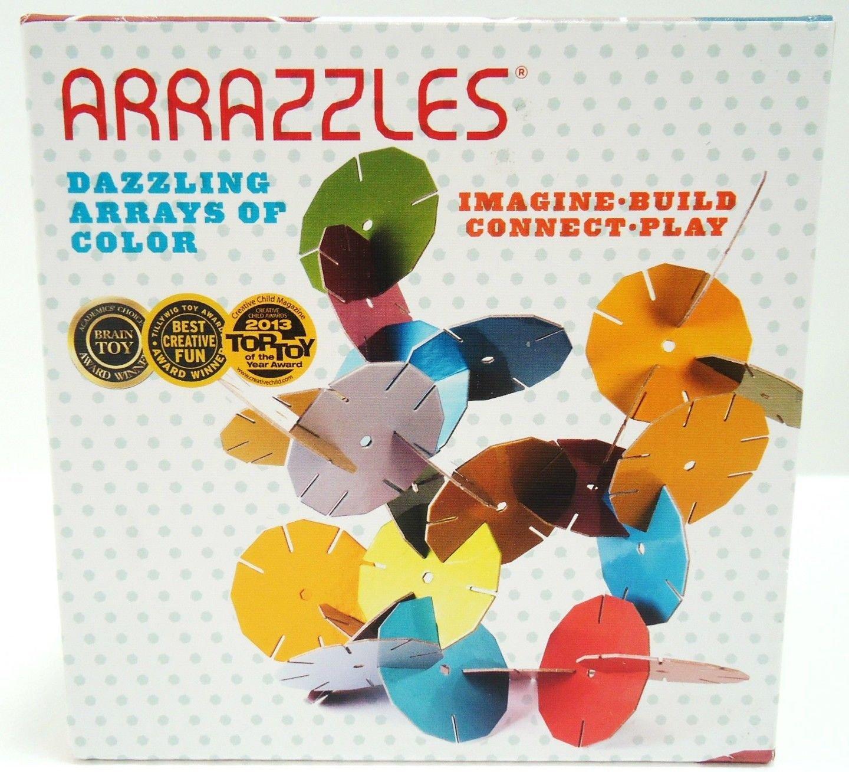 FUNNYBONE - TOYS - ARRAZZLES - 3D - GEOMETRIC - DESIGN - CARD - GAME - NEW