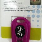SUPER BRIGHT - LED - KEY - FLASH LIGHT - KEY FOB - KEY CHAIN - NEW - PURPLE