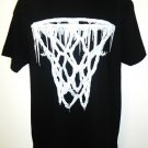 YOUNG & WILD - WINTER - BASKETBALL -  HOOP - BLACK - T-SHIRT - LARGE - NEW - NBA