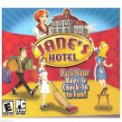 JANE'S HOTEL - PC CD-ROM - NEW - SEALED - eGAMES - 40 LEVELS - COMPUTER - GAMES