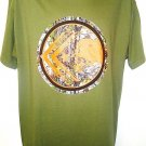 METAL MULISHA - REALTREE XTRA - LARGE - ARMY - GREEN - ORANGE - NEW - T-SHIRT
