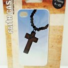 iPHONE - 4 - 4S - FAITH - CASE - ROSARY - CROSS - PHONE CASE - NEW - JESUS - GOD