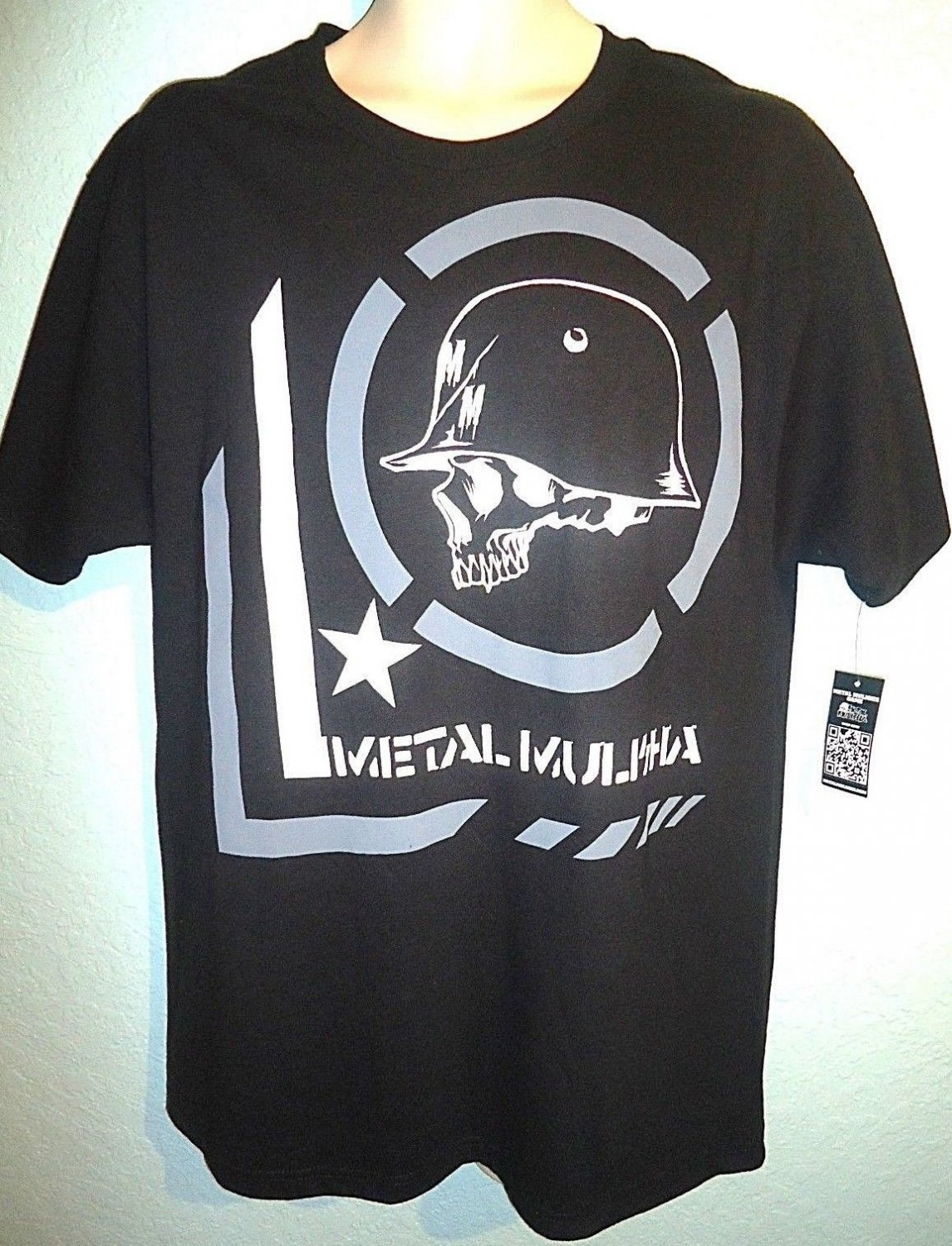 METAL MULISHA - LARGE - BLACK - BIKER - ERA - TEE - NEW - MOTORCYCLE - T-SHIRT