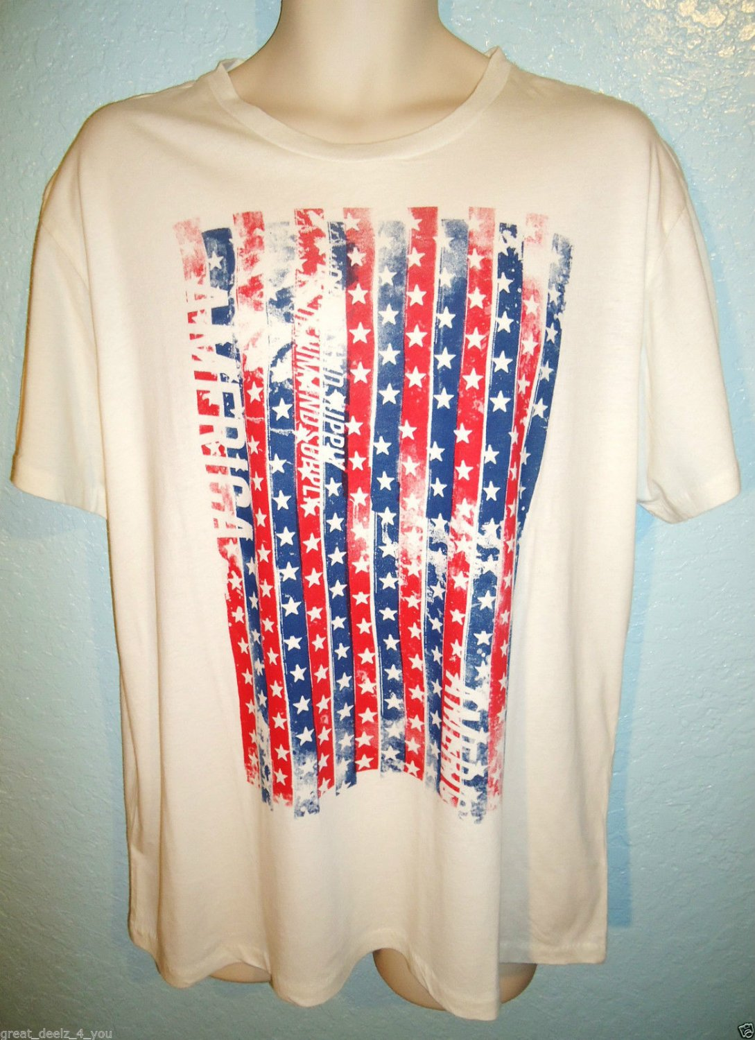 RALPH LAUREN - POLO - RL - AMERICAN - FLAG - XL - TEE - BRAND NEW - T-SHIRT