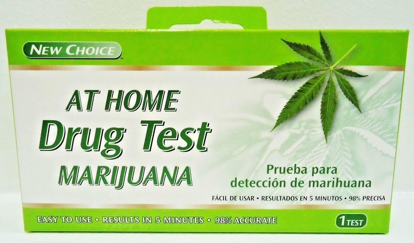 NEW CHOICE - HOME - MARIJUANA - WEED - DRUG - URINE - TEST - KIT - BRAND NEW