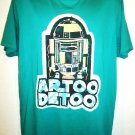 JUNK FOOD - STAR WARS - GREEN - ARTOO DETOO - RETRO - XL - T-SHIRT - TEE - R2D2