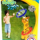 GIGGLE & SPLASH - KIDS - GIRAFFE - RING - TOSS - SPRINKLER - WATER - GAME - NEW