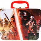 STAR WARS - THE FORCE AWAKENS - 3D - PUZZLE - JEDI - LUNCH - BOX - CASE - NEW