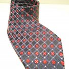 HUGO BOSS - BOSS - ITALY - NAVY - BLUE -  RED - SILK - TIE - NEW - ACCESSORIES