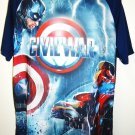 MARVEL - IRON MAN - CAPTAIN AMERICA - CIVIL WAR - L - T-SHIRT - NEW - AVENGERS
