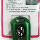 SUPER BRIGHT - LED - KEY - FLASH LIGHT - KEY FOB - KEY CHAIN - NEW - GREEN