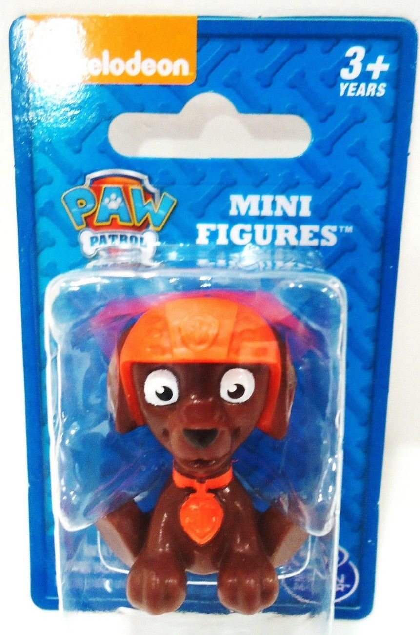NICKELODEON - PAW PATROL - CARTOON - ZUMA - MINI - FIGURE - BRAND NEW - SEALED