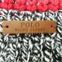 RALPH LAUREN - POLO - STRIPED - MERINO - WOOL - WINTER - SCARF - NEW - CHARCOAL