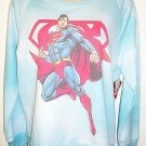 DC COMICS - SUPERMAN - RETRO - TIE DYE - SWEATSHIRT - LARGE - 11/13 - BRAND NEW