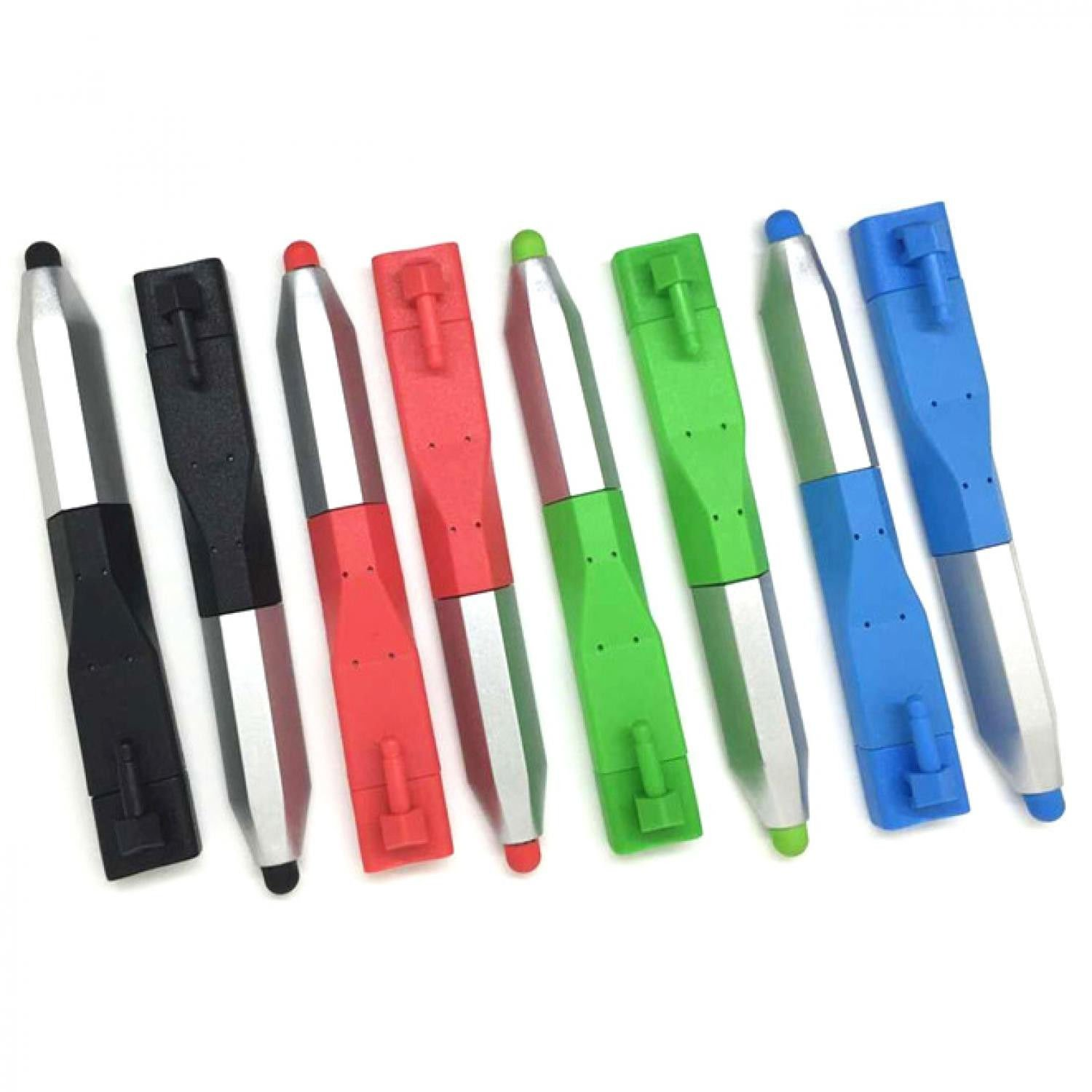 ANDROID - BLUE - 2 IN 1 - MICRO - USB CABLE - STYLUS - HTC - SAMSUNG - LG - NEW