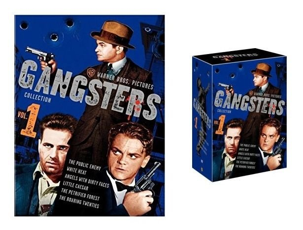 WARNER BROS. - GANGSTERS - COLLECTION - VOLUME 1 - DVD - 6 DISC SET - BRAND NEW