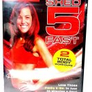 SELF FITNESS - SHED 5 FAST - DVD - LINDSAY BRIN - BODY - WORKOUT - NEW - GYM
