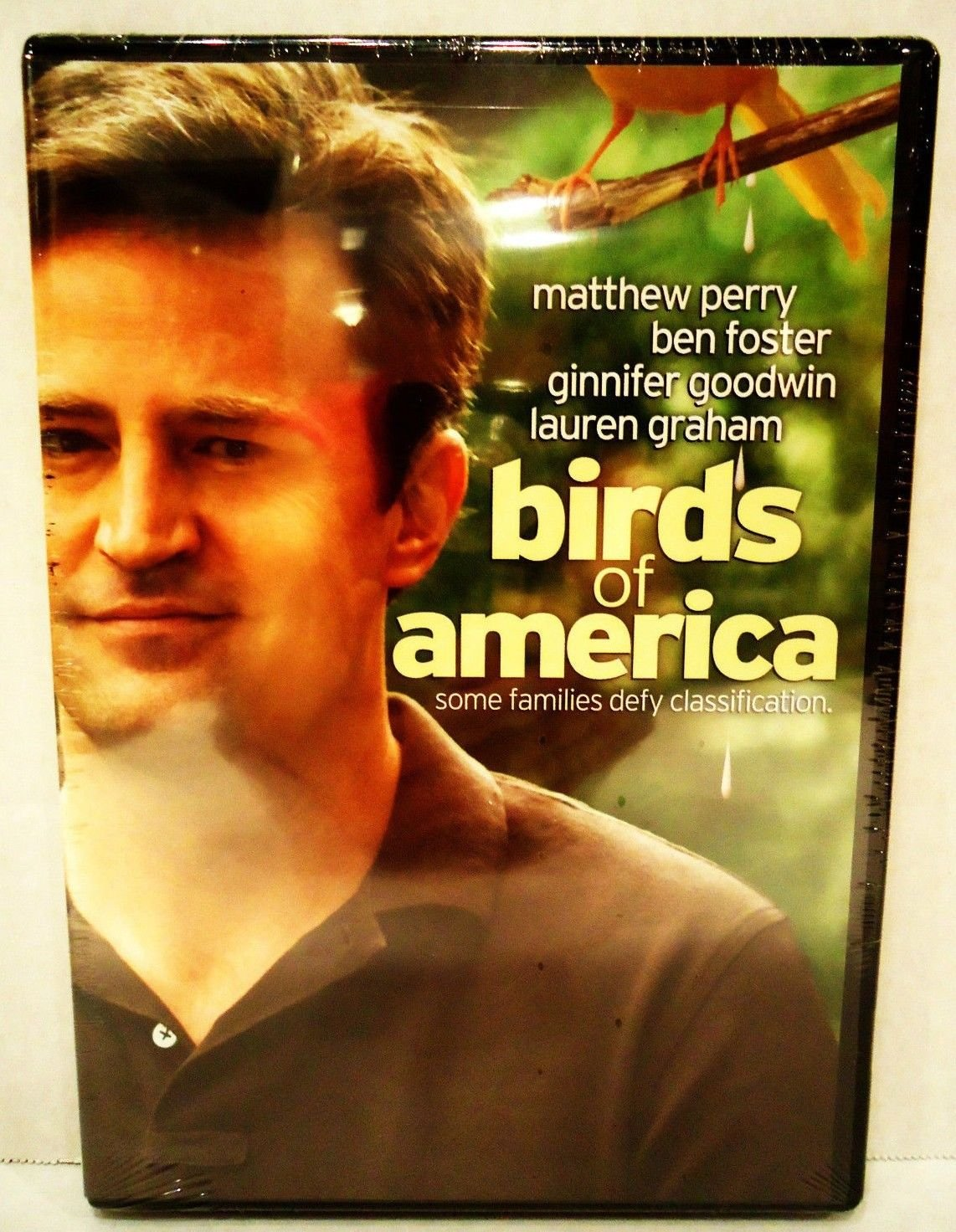 BIRDS OF AMERICA - FRIENDS - DVD - MATTHEW PERRY - NEW - SEALED - COMEDY - MOVIE