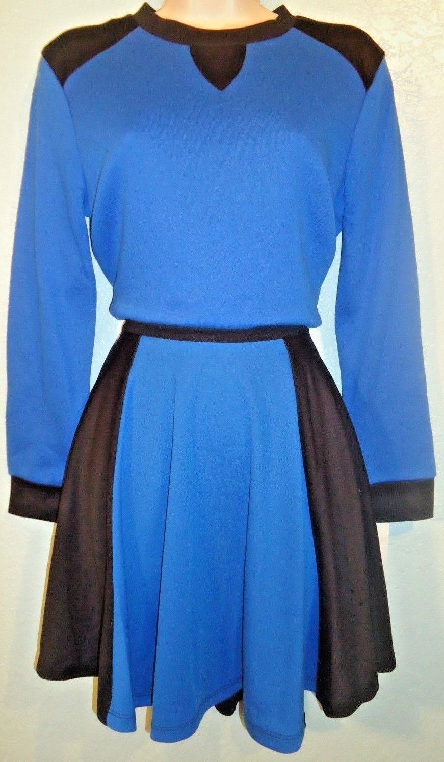 M STYLE LAB - 2 PIECE - BLUE - BALLET - OUTFIT - TOP - SKIRT - NEW - S - MACY'S