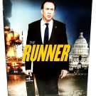 THE RUNNER - DVD - NICOLAS CAGE - NEW - POLITICAL - ACTION - THRILLER - MOVIE