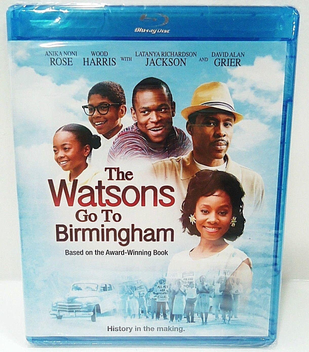 THE WATSONS GO TO BIRMINGHAM - DVD - BLU-RAY - DAVID ALAN GRIER - NEW - SELMA