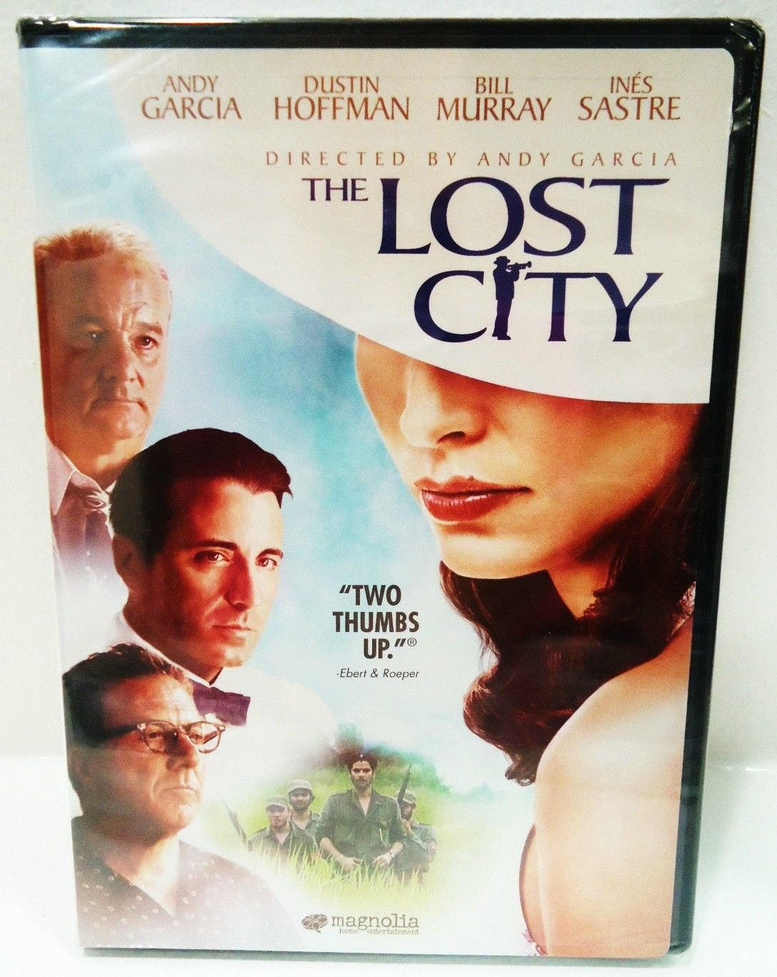 THE LOST CITY - DVD - BILL MURRAY - ANDY GARCIA - NEW - SEALED - ACTION - MOVIE