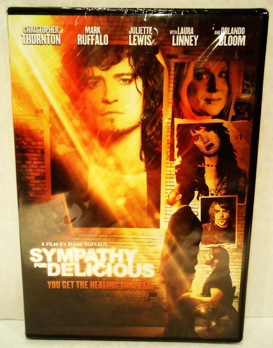 SYMPATHY FOR DELICIOUS - DVD - ORLANDO BLOOM - JULIETTE LEWIS - NEW - DRAMA