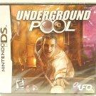 NINTENDO - DS - LITE - 3D - UNDERGROUND POOL - NEW - SEALED - VIDEO - GAMES
