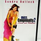 MISS CONGENIALITY 2: ARMED & DANGEROUS - DVD - SANDRA BULLOCK - NEW - COMEDY