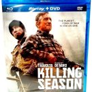 KILLING SEASON - BLU-RAY - DVD - DE NIRO - TRAVOLTA - NEW - ACTION - WAR - MOVIE