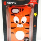 GRIFFIN - iPHONE - 5S - ANIMAL - PARADE - ORANGE - TIGER - CASE - NEW - FREE APP
