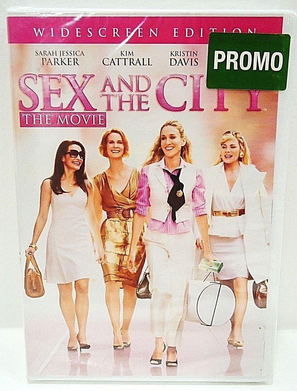 SEX AND THE CITY - THE MOVIE - DVD - SARAH JESSICA PARKER - NEW - COMEDY - FILM