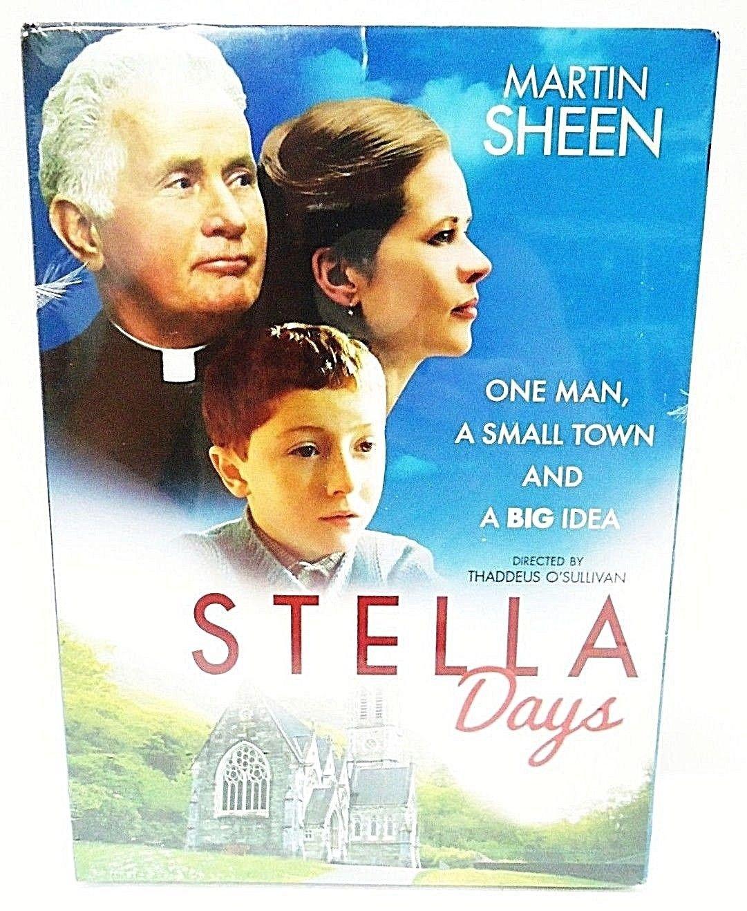 STELLA DAYS - DVD - MARTIN SHEEN - NEW - SEALED - IRELAND - RELIGION - MOVIE