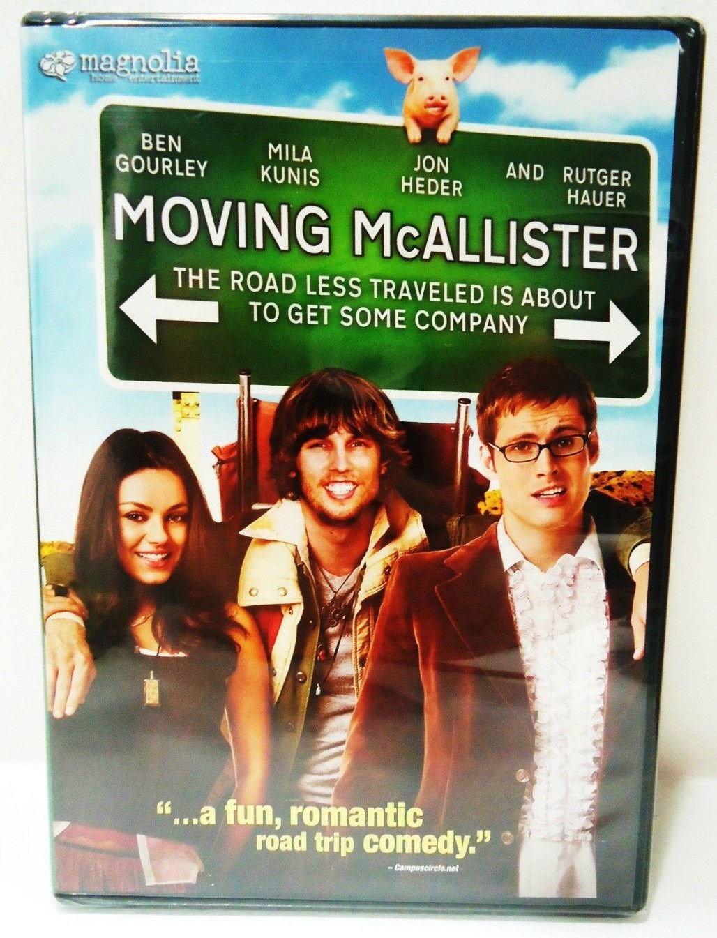 MOVING McALLISTER - DVD - MILA KUNIS - BRAND NEW - ROMANTIC - COMEDY - MOVIE