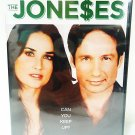 THE JONE$ES - DVD - DEMI MOORE - DAVID DUCHOVNY - BRAND NEW - COMEDY - MOVIE